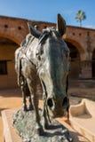 Standbeeld voor Portola-Ruiters in de opdracht van San Juan Capistrano stock foto's