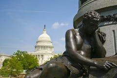 Standbeeld in Washington royalty-vrije stock afbeelding