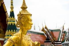 standbeeld in wat Phrakaew Royalty-vrije Stock Foto's