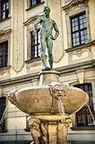 Standbeeld in wroclaw Royalty-vrije Stock Foto's