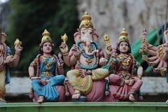 Standbeelden in Batu-Holen Royalty-vrije Stock Foto