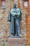 Standbeelden bij Hohenzollern-Kasteel Burg Hohenzollern royalty-vrije stock afbeeldingen