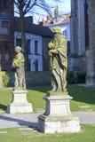 Standbeelden in centraal Brugge Royalty-vrije Stock Afbeeldingen