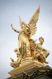 Standbeelden, Palais Garnier Stock Fotografie