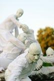 Standbeelden tijdens het Internationale Festival van het Leven Standbeelden Stock Foto's
