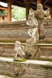 Standbeelden in Ubud Royalty-vrije Stock Fotografie