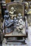 Standbeelden van Boedha Stock Afbeelding