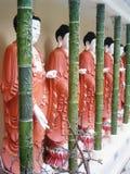 Standbeelden van buddhas Royalty-vrije Stock Fotografie