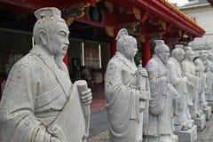 Standbeelden van Chinese Sages stock foto