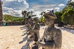 Standbeelden van de Graven, Vietnam stock afbeelding