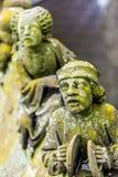 Standbeelden van decoratieve en fantasiecijfers royalty-vrije stock afbeeldingen