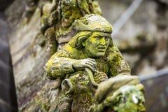 Standbeelden van decoratieve en fantasiecijfers royalty-vrije stock foto's