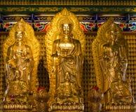 Standbeelden van goden. Stock Afbeeldingen
