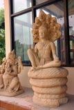 Standbeelden van Hindoeïsme Royalty-vrije Stock Afbeeldingen
