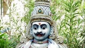 Standbeelden van Hindoese Goden en Godin Ambachten en Kunsten van India stock videobeelden