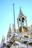 Standbeeldenmozaïeken Heilige Mark& x27; s Kerk Venetië Italië Stock Foto