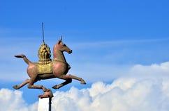 Standbeeldpaard Stock Afbeelding