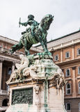 Standbeeldprins Eugene van Savoye royalty-vrije stock foto