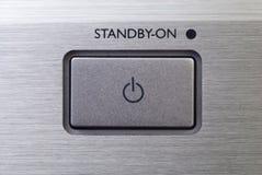 standby кнопки Стоковое фото RF