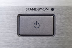 Standby button Royalty Free Stock Photo
