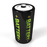 Standing Battery.  Stock Image
