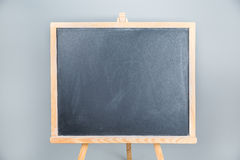 Standing blackboard Royalty Free Stock Images