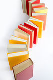 Standing book queue Stock Image