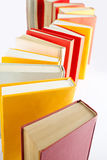 Standing book queue Stock Photo