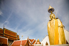 Standing Buddha, Bangkok Stock Photo