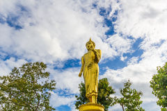 Standing buddha Stock Photo