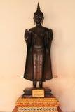 A standing buddha. Found at Phetchaburi stock photos