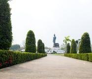 Standing  buddha image Royalty Free Stock Photo