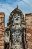 Standing Buddha image in Sukhothai, Thailand Royalty Free Stock Photo