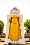 Standing buddha image Royalty Free Stock Image