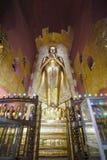 Standing Buddha Kassapa at the Ananda temple adorned  in Bagan, Myanmar. Stock Photo