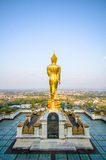 Standing Buddha. In Nan Thailand Royalty Free Stock Images