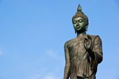 Standing buddha statue Royalty Free Stock Photos