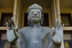 Standing buddha statue Royalty Free Stock Photo