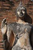 Standing Buddha statue at Sukhothai Stock Photography