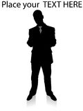 Standing business executive Stock Photography