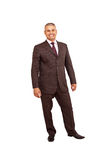 Standing business man royalty free stock photography