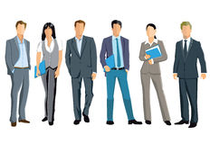 Standing business professionals Royalty Free Stock Image