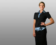 Standing Business Woman Royalty Free Stock Photo
