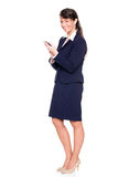 Standing business woman Stock Image