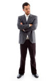 Standing Businessman Looking At Camera Royalty Free Stock Images
