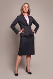 Standing businesswoman Stock Photography