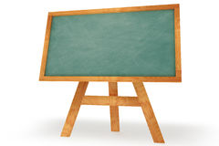 Standing Chalkboard royalty free stock photography