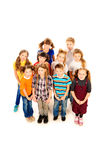 Standing children Stock Image