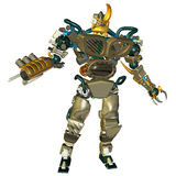 Standing combat robots Royalty Free Stock Photography