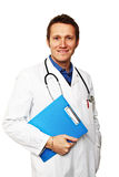 Standing doctor Royalty Free Stock Image
